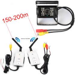 Veículo sem fios/autocarro/Auto Reverse e estacionamento de backup com Câmara 2,4Ghz Transmissor Receptor