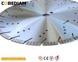 350mm soudées au laser pour le béton armé de lame de scie avec Turbo Segment/Outils en diamant