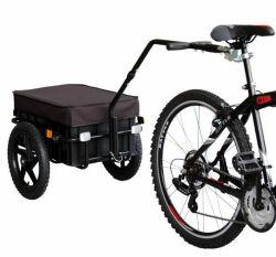Rimorchio esterno dei bagagli del carico della bicicletta della bici con il contenitore smontabile di trasporto