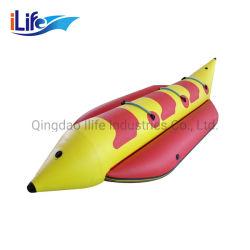iLife Hot Sale Water Sport 고품질 PVC 소재 바나나 더블 인/팽창식 플라이어 튜브를 위한 보트 팽창식 물 밀봉 보트 /팽창할 수 있는 플라잉 피시