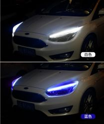 LEIDENE Lichte Stroken voor van de LEIDENE van de Achtbaan van Auto's Opeenvolgende LEIDENE LEIDENE van de Strook Flexibele Lichten van de Buis Richtingaanwijzers