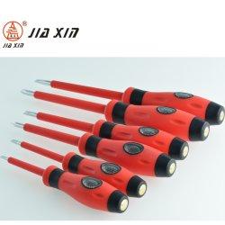 4mm*80mm duplo objectivo fendas/Teste CRV lápis de fenda com pé magnético