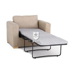 استوديو سنغافورة سرير أريكة يمكن تحويلها إلى سرير مفرد سرير إضافي في غطاء الفندق المصنوع من القماش