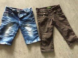 قطع الجينز الرجالي الممتاز من الدرجة الممتازة (AAA) مسافة قصيرة ملابس الصيف