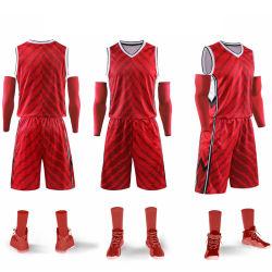 2019의 농구 Jerseys를 인쇄하는 대중적인 유럽 농구 제복 디자인 남자 스포츠 착용 승화
