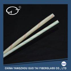 열 절연 PVC 코팅 섬유 유리 슬리브