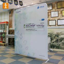 Promotie Recht duikt Banner met het Frame van het Aluminium op