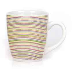 بالجملة عالة بيضاء طباعة شام ماء خزفيّة فنجان قهوة