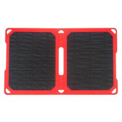 10W panel solar portátil plegable portátil USB cargador de teléfono móvil iPhone Batería Bank