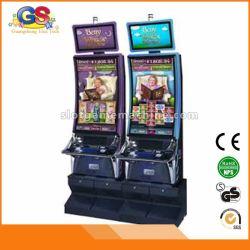 Tisonnier visuel de Pub de casino Bally de jeux grésillant la machine aux sous 7 à vendre