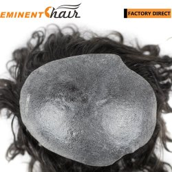 изготовленный на заказ<br/> тонкой кожи мужской волос человека Toupee количество впрыскиваемого топлива