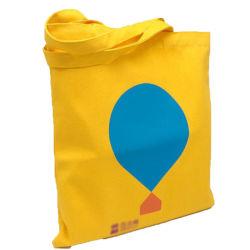 Ecológico de reciclar 100% orgânico saco de pano, saco de algodão, saco de lona, Senhoras Fashion bolsas personalizadas Sacola grande de lona de algodão