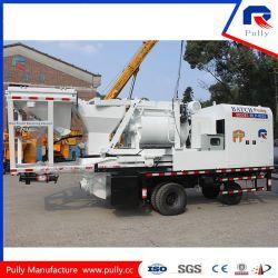 Haute efficacité de la pompe à béton montés sur camion mélangeur avec système hydraulique