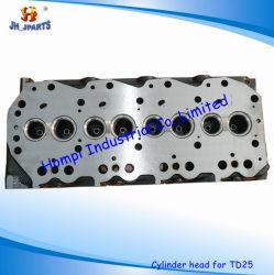 Maschinenteil-Zylinderkopf für Nissans TD25 11039-44G01 11039-44G02