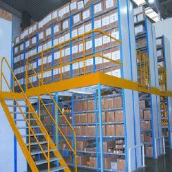 Lager-Speicher-Industrie-Zahnstangen-Mezzanin-Fußboden-Plattform/bewegliches Fach