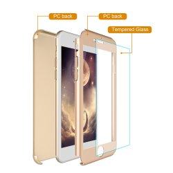 2017 Avondmaal Nieuwe 3 in 1 Voorzijde + de AchterDekking van het Geval van de Telefoon het Uiterst dunne Geval van de Telefoon van de Cel van het Lichaam van 360 Graad Volledige voor iPhone7/for iPhone 7plus