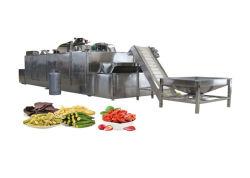 La línea de producción de alimentos Vagetarian frutas y verduras de la máquina de pelo