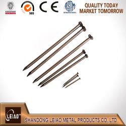 傘ヘッドが付いている共通の鉄ワイヤー釘か屋根ふきの釘