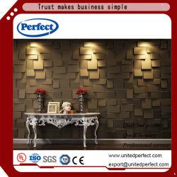 De decoratieve Akoestische 3D Raad van de Vezel van de Polyester van de Muur Panel/3D van de Polyester