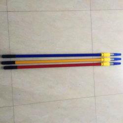 3m Mop Pólo de ferro de extensão telescópica de alumínio OEM para limpeza doméstica e decoração