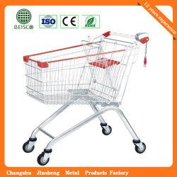 Carrefour 슈퍼마켓 디자인 질 식료품류 쇼핑 손수레 트롤리 (JS-TEU03)