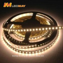 SMD 3528 9.6W 24DC si raddoppiano indicatore luminoso di strisce flessibile bianco del LED