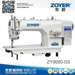 Zy9000-D3 Zoyerのディレクト・ドライブの自動トリマーの高速Lockstitchの産業ミシン