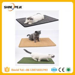 Le sisal naturel Cat Scratcher Conseil chaise longue de rayer Post Mat jouet pour arbre d'escalade de la tour de refroidissement du tampon de meubles Produit de PET