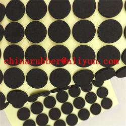 衝撃のエヴァのいろいろな種類の円形のマットの耐久力のある黒いエヴァのフィートのパッドのチンタオエヴァのゴム部品の製造業者