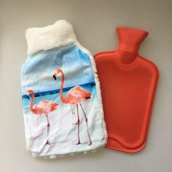 Colorea la impresión de imágenes con poca cubierta de felpa para bolsa de agua caliente