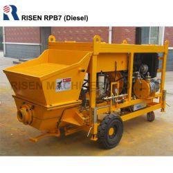 Малые с приводом от дизельного двигателя насоса - Влажной Shotcreting Shotcrete конкретные насос с дизельный двигатель- влажных конкретные машины для опрыскивания