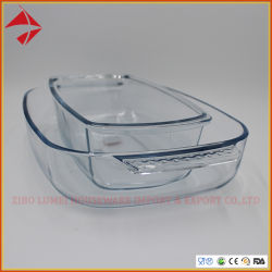 فرن أساس يخبز طبق قيمة حزمة زجاجيّة مستطيل شكل [بكينغ بن] زجاجيّة [نون-ستيك] [بكينغ بن] قالب [موولد] طبق خبز [فيش بلت]