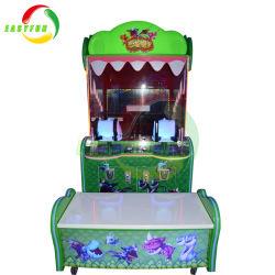 Divertimento a gettoni della Cina della sfera della fucilazione dell'acqua dei capretti il video guida il gioco di bambini della macchina del gioco