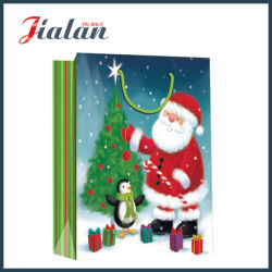 Christmas Father Design 4c Printed Shopping Carrier Cadeaupapier zak