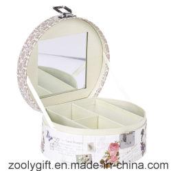 Cosmetic stampato Gift Box/Promotional Paper Music Box con Mirror e Lock