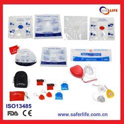 2019 ausbildengeschenk-Erste ERSTE HILFEEmergency Resuscitator-Schablone CPR-Schild-einzelner Gebrauch-Taschen-Gesichtsmaske CPR-Sperren-Schlüssel
