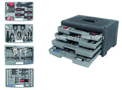 Hilfsmittel-Schrank der Befestigungsteil-99PC, Selbstmechaniker-Hilfsmittel-Set