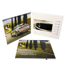 최신 판매 2019 주문 인쇄 영상 LCD 카드