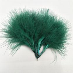 豪華で多彩な高品質の卸売の羽のトリミングのアクセサリの羽Flower