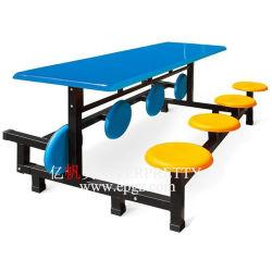 Складной обеденный стол и стул для столовой или ресторане