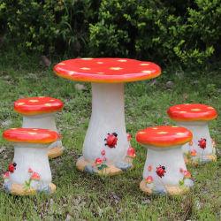 Большие грибы из стекловолокна для сиденья пейзаж вилла оформление детского сада и красотой дизайна