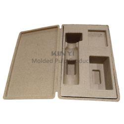 カスタムデザインおよびサイズ波形カードボード Pulp 生分解性パッケージ