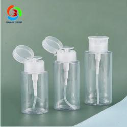 100ml 33/410 garrafas de plástico PET para espelho removedor de esmalte