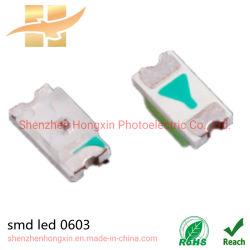 SMD LED Hx-0603-0.6t 、緑 SMD チップ LED ライト