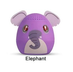 Schattige draagbare Elenphant draadloze Dier Bluetooth-luidspreker voor mobiel Mini-luidspreker van telefoon