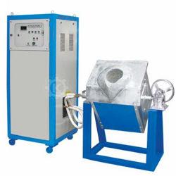 (Prodotto caldo) forno di rame di fusione dell'oro dell'argento del metallo del forno di fusione 50kg di induzione di alluminio rotativa da vendere
