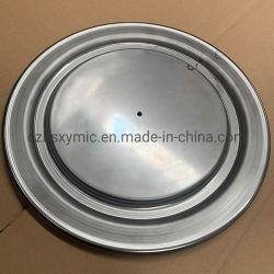 Parti su ordinazione di filatura di metallo dell'acciaio dolce con l'orlo del rullo