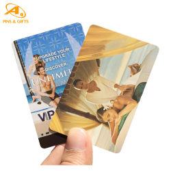 Custom Gold Tag Glitter Transparent visitant 215 NFC Key Fob en cuir de gros portefeuille Feuille d'or business adhésion VIP Hôtel Key carte plastique PVC