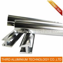 すべてのタイプのアルミニウム滑走チャネル、アルミニウム滑走チャネルのプロフィール、ワードローブのドアのためのEnのアルミニウム滑走チャネル
