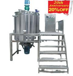 액체 세제 증기 난방 화학 만드는 Dishwashing 젤 섞는 장비를 위한 균질화기 믹서 유형 그리고 새로운 조건 분산기 믹서 혼합 믹서 탱크